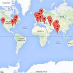 Kaart Auteurs Overleden in 2016
