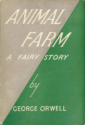 George Orwell ANIMAL FARM 1973 HCDJ illustrated by RALPH STEADMAN