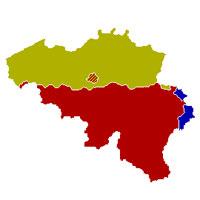België-Kaart-Talen