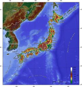 Japan-Kaart