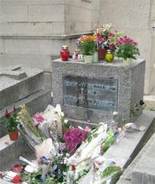 Père-Lachaise (Graf van Jim Morrison)