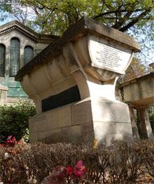 Père-Lachaise (Tombe van Jean de la Fontaine)