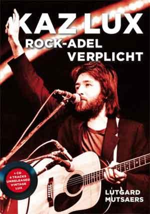 Boek Kaz Lux Rock-adel verplicht Lutgard Mutsaers