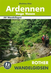 Rother Wandelgids Ardennen Hoge Venen Belgie
