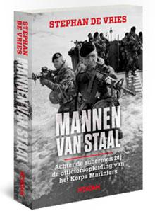 Stephan de Vries Mannen van staal Boek Korps Mariniers