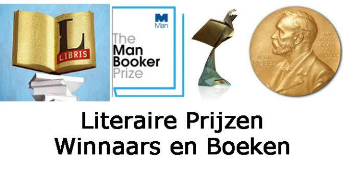 Literaire Prijzen Winnaars Boeken Informatie Overzicht