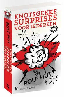 Rolf Hut Knotsgekke Surprises voor Iedereen Boek Siterklaas Surprises Maken