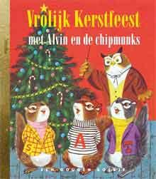 Vrolijk Kerstfeest met Alvin en de Chipmunks Gouden Boekje