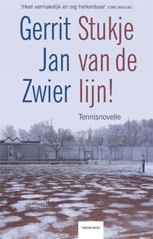 Gerrit Jan Zwier Stukje van de lijn Tennisboek