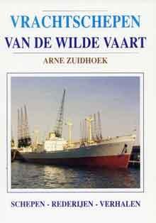 Boek Vrachtschepen van de Wilde Vaart Arne Zuidhoek