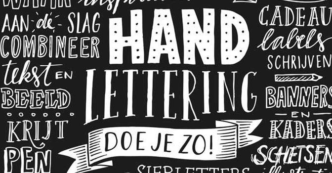 Boeken over Handletteren Handlettering Boeken