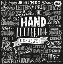 Karin Luttenberg - Handlettering doe je zo! Recensie Informatie