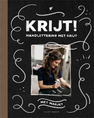 Marjet Verhoef Krijt Boek Handlettering met Krijt