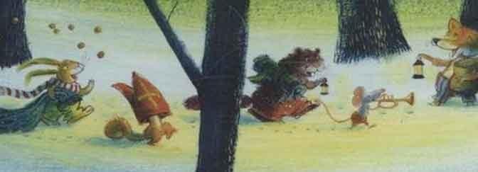 Sinterklaas boekentip Zie de maan schijnt door de Bomen