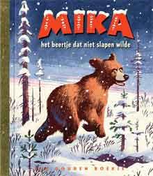 Erik Kriek Mika het beertje dat niet slapen wilde Gouden Boekje