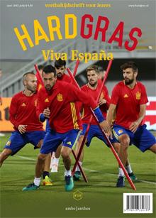 Hard Gras 114 Spanje Nummer Spaans Voetbal