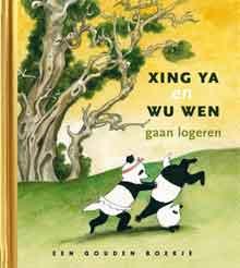 Xing Ya en Wu Wen gaan logeren Recensie Boekje over Panda's