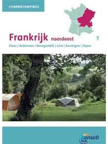 ANWB Campinggids Frankrijk Noordoost Charmecampings