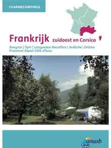 ANWB Campinggids Frankrijk Zuidoost Charmecampings