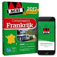 Campinggidsen Frankrijk ACSI Campinggids Frankrijk 2017