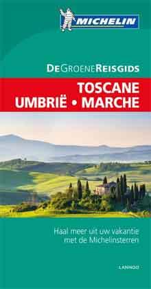 Michelin Groene Reisgids Toscane Umbrie Marche