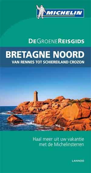 Michelin Reisgids Bretagne Noord