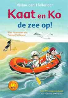 Vivian den Hollander Kaat en Ko de zee op Recensie