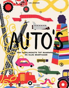 Carl Johanson Auto's Prentenboek