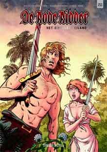Nieuwe Stripboeken 2017 De Rode Ridder 253 Het eindeloze eiland