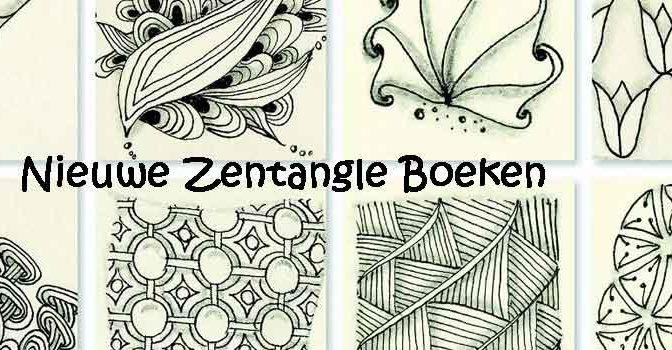 Nieuwe Zentangle Boeken Recensie Tips Informatie