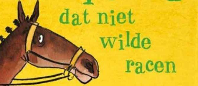 Clare Balding Het renpaard dat niet wilde racen Recensie