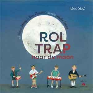 Roltrap naar de maan Boek CD Harrie Jekkers Klein Orkest Koos Meinderts