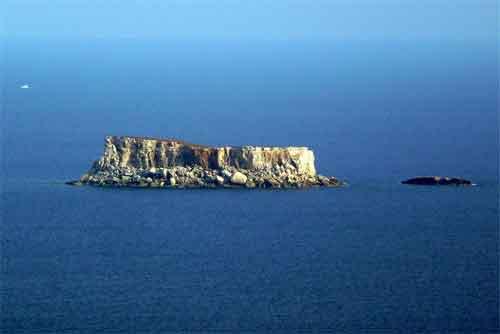 Filfla Onbewoond Eiland bij Malta