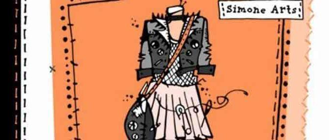 Simone Arts Fashion Academy Punk meets Preppy