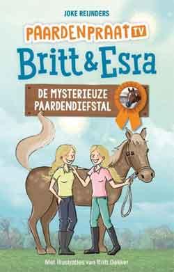 Brit & Esra De mysterieuze paardendiefstal Boek Paardenpraat TV