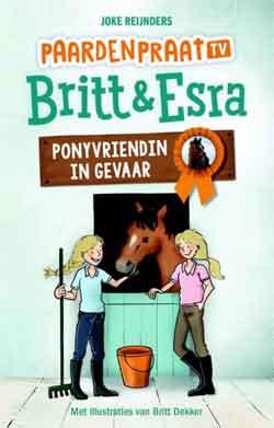 Brit & Esra Ponyvriendin in gevaar Boek Paardenpraat TV