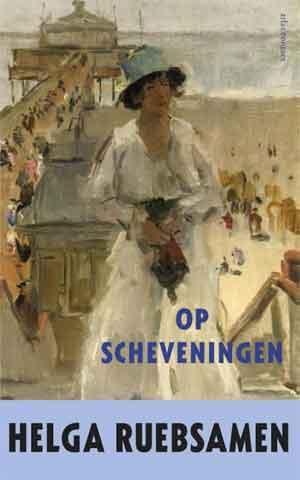 Haagse Schrijfsters Helga Ruebsamen Op Scheveningen