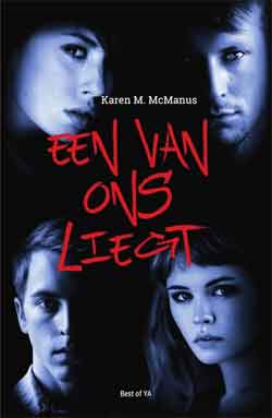 Karen M McManus Een van ons liegt Young Adult Thriller