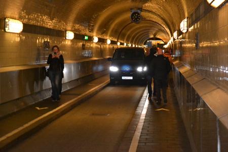 St Pauli-Elbtunnel Tunnel Tunnel onder de Elbe