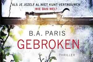 B.A. Paris Gebroken Dwarsligger