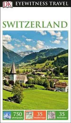DK Eyewitness Reisgids Zwitserland Switzerland