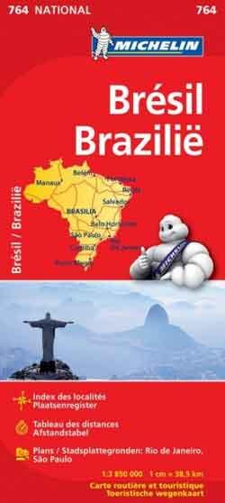 Michelin Wegenkaart Brazilië