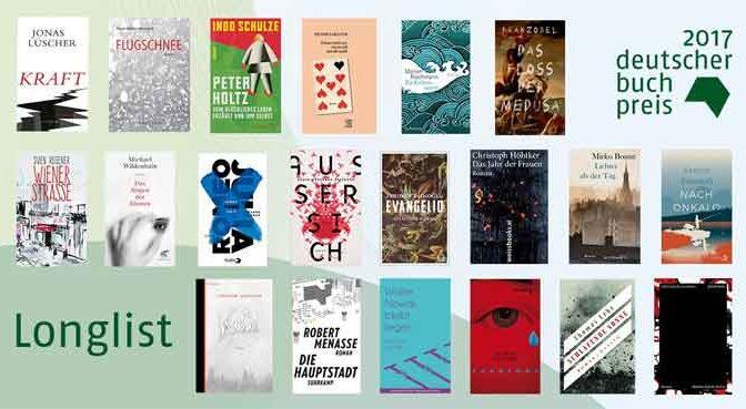 Deutscher Buchpreis 2017 Winnaar Boeken Longlist