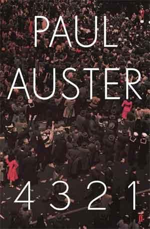 Paul Auster 4321 - Booker Prize 2017 Longlist Boeken