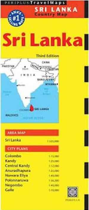 Sri Lanka Wegenkaart Periplus