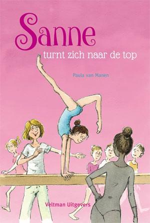Paula van Manen Sanne turnt zich naar de top