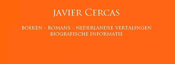Javier Cercas Boeken Romans