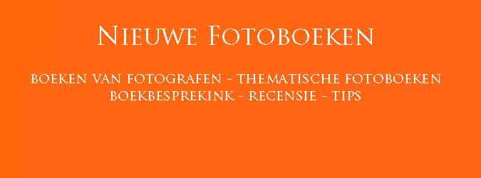 Nieuwe Fotoboeken Recensie