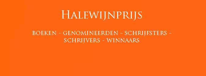 Halewijnprijs Winnaars Boeken