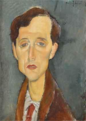 Franz Hellens Portret van Amedeo Modigliani ui 1919 Schrijvers Geboren in Brussel
